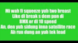 Vybz Kartel -  Bicycle Raw W/ Lyrics