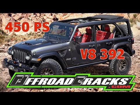 JEEP RUBICON V8 392 - 450 PS und 610Nm - ein OFFROAD-TRAUM!