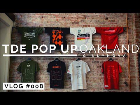 TDE Championship Tour Pop Up Merch - Oakland, CA May 8, 2018 (Vlog #008)