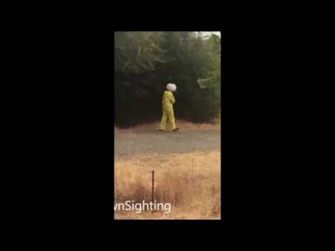 Creepy Killer Clown Sightings Compilation