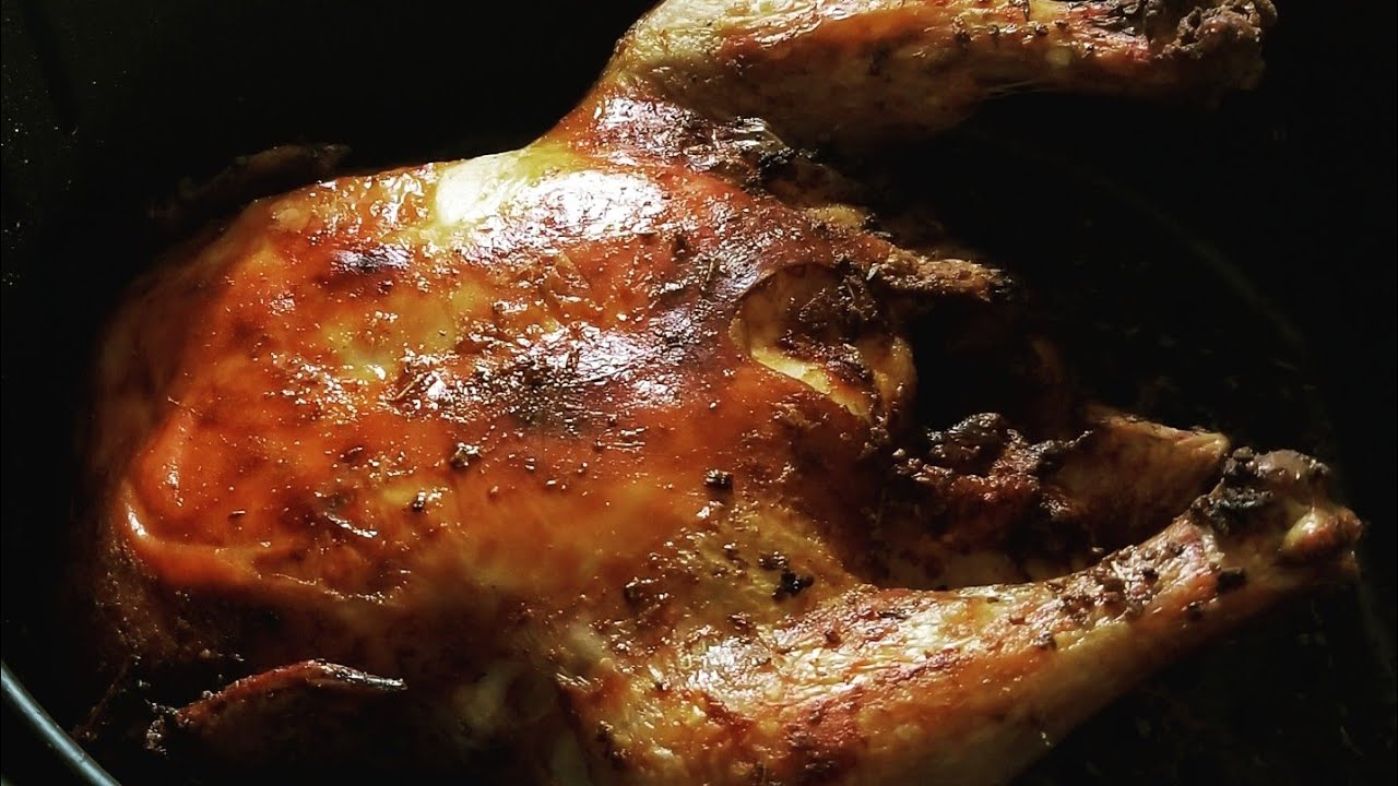 Easy Air Fryer Whole Chicken Zenchef Airfryer Rotisserie