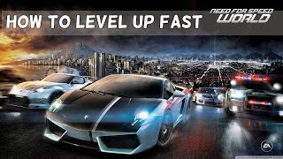 Need for Speed World | How to level up fast & get money fast