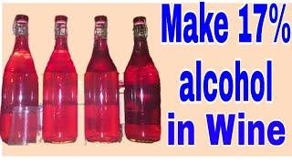 Make 17% Wine of Bael fruit & any fruits. Food and desi sharab recipe