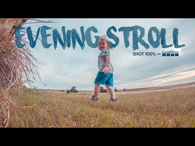 EVENING STROLL / Shot 100% on GoPro / April 26, 2021