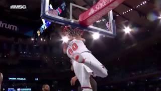Tim Hardaway Jr. assists and Enes Kanter dunks vs. Hawks [18.10.18.]