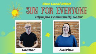 Give Local 2020: Sun for Everyone Board Member Edition