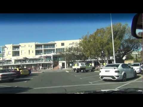 Driving from Mullaloo Beach to Ocean Reef, Perth, Western Australia