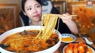 🍜속풀이짬뽕 한그릇 먹방🍜_ Shugi Mukbang eating show