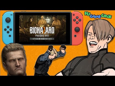 """Capcom Ruins Resident Evil 7 On Nintendo Switch with """"Cloud Version"""""""
