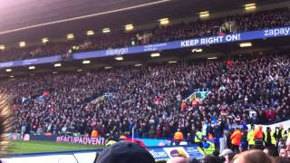 West Bromwich Albion fans at Birmingham City FA Cup