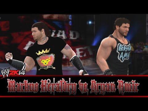 WWE2K14   Simulation Match   Markus Heraldry vs. Bryan Amir