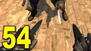 CS:GO - Part 54 - DOUBLE BUTT PLUGS! (Shadow Dagger StatTrak Night Gameplay)