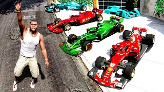 Collecting RACING SUPER CARS in GTA 5!