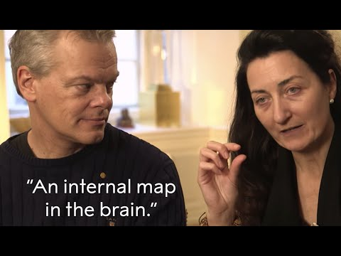"""An internal map in the brain."" May-Britt and Edvard Moser, 2014 Nobel Prize in Physics"