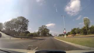 GoPro Hero3+ Back Edition Police Responding Vehicle Theft in Progress