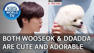 Download lagu Both Wooseok & Ddadda are cute and adorable [Dogs are incredible/ENG/2020.06.17]