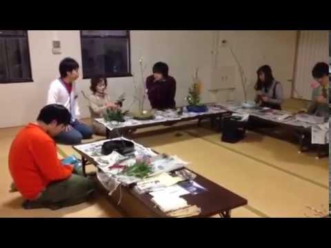 近畿大学クラブ紹介|文化会-華道花心部