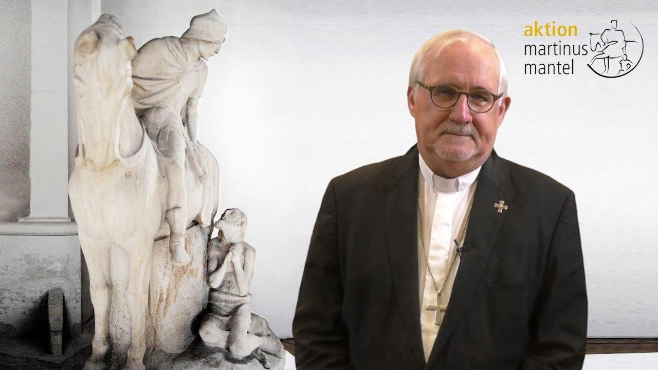 Bischofsbotschaft zur Aktion Martinusmantel 2019