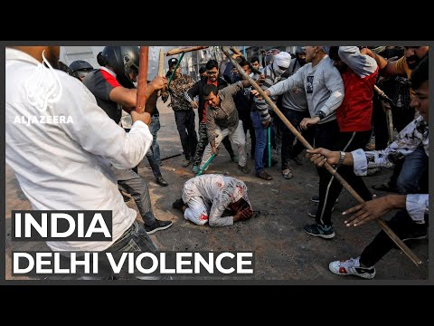 Fresh violence erupts in Indian capital during anti-CAA prot