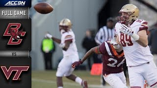 Boston College vs. Virginia Tech Full Game | 2018 ACC Football