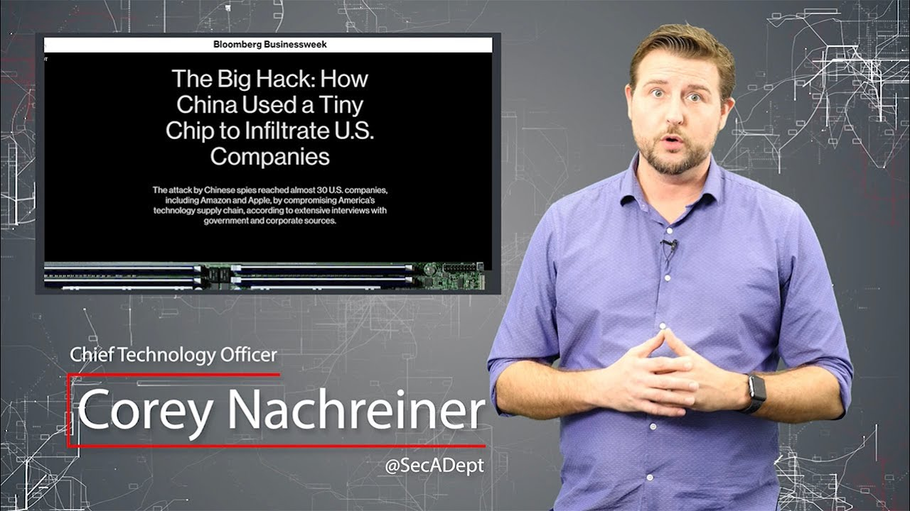 Dystopian SuperMicro Supply-chain Hack - Daily Security Byte