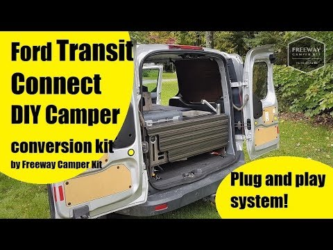 Ford Transit Connect Camper Conversion Kit By Freeway Camper Kit