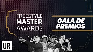 GALA OFICIAL FREESTYLE MASTER AWARDS 2019