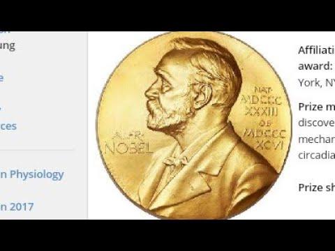 Nobel Prize 2017  (Nobel Laureate  2017)