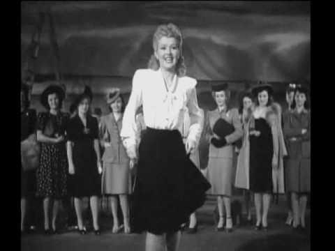 "Betty Grable - Footlight Serenade (1942) - ""Are You Kiddin'?"""