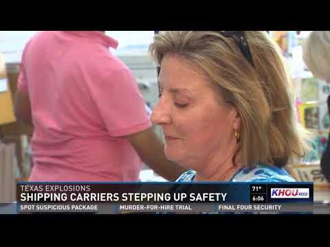 Shipping carriers stepping up safety due to package explosions