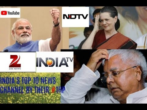 INDIA'S 2018 TOP 10 TRP HINDI NEWS CHANNEL##