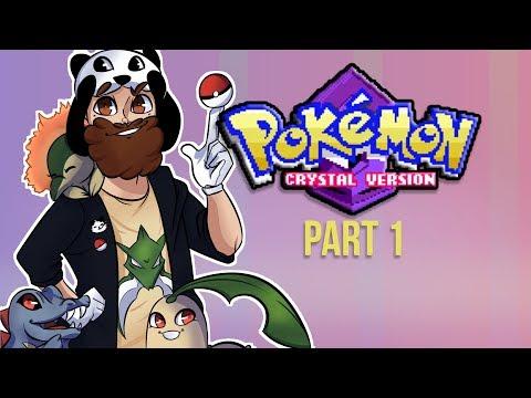 Jiggly Starts His Pokemon Journey! - POKEMON CRYSTAL PLAY THROUGH PT. 1