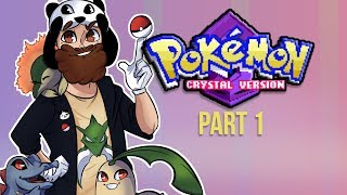 Jiggly Starts His Pokemon Journey! - POKEMON CRYSTAL PLAY THROUGH PT. 1