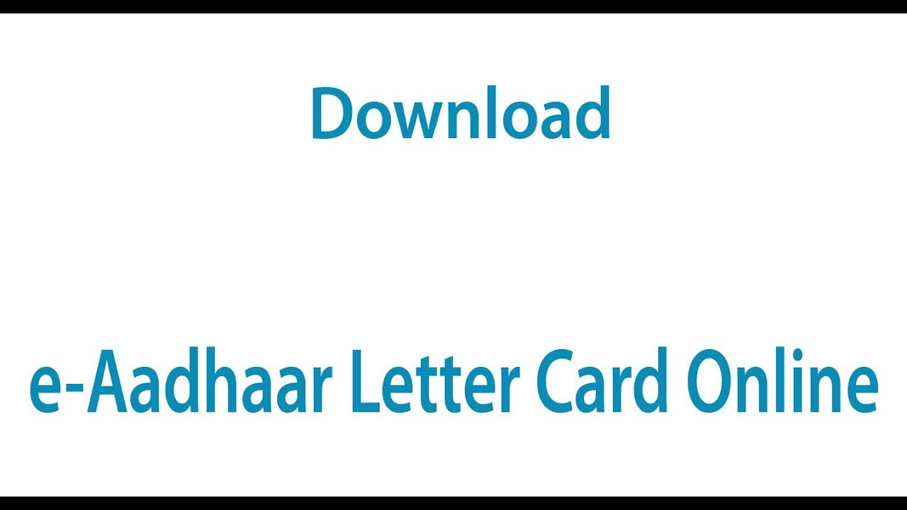 How to download aadhaar card with signature valid on the card//in.