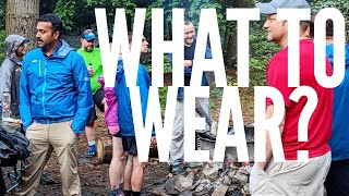 What to wear while backpacking: My three season backpacking clothes