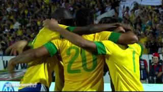Gols - Brasil 8 x 0 China - Amistoso Internacional - 10/09/2012 - Globo HD
