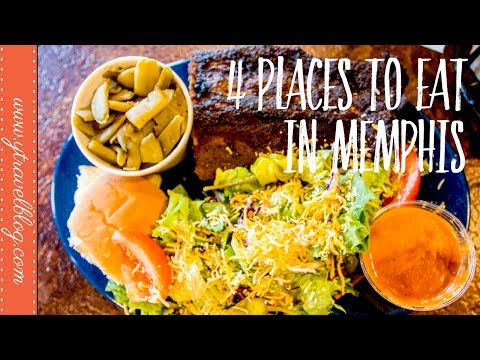 4 PLACES TO EAT in Memphis Tennessee