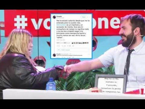 'Soy una pringada' acusa a Antonio Castelo de acosador y machista