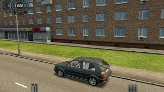 City Car Driving 1.3.2: Volkswagen Golf GTI 16V Gameplay (PC HD)