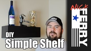 Ⓕ Diy Simple Shelf (ep23)
