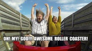 TPR Rides Balder POV AWESOME Wood Roller Coaster Liseberg Sweden 2014