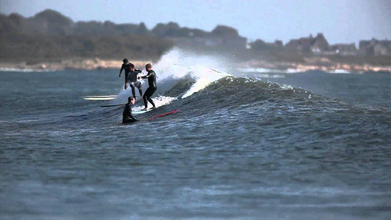 Narragansett surfing september 18th youtube for Ri fishing regulations