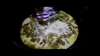 Таглятеле с куриным филе,грибами и базиликом .