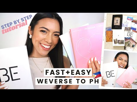 How to Order from WEVERSE SHOP & Ship to the PHILIPPINES | Cheap, Fast & Easy | StepByStep Tutorial