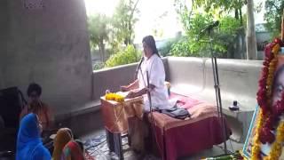 Anandeshwar Mandir me Sachcha Baba ki Katha Karti hui Guru Maa 6