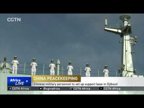 Chinese military personnel to set up support base in Djibouti