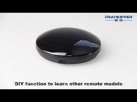 FRANKEVER Smart IR Remote Control Operational Video