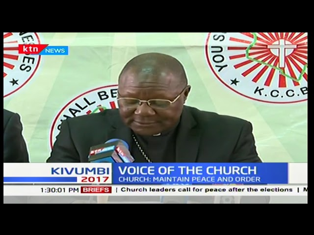 What Catholic Bishops told Uhuru, police after declaration of presidential poll winner