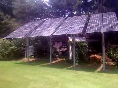 Residential Solar 5 Kw Pole Mounted Pa Youtube