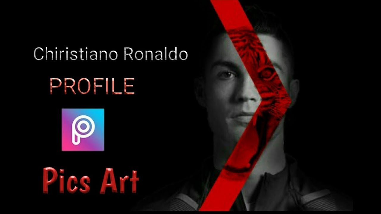 Make Your Photo Like Christiano Ronaldo Profile Pics Art Editing